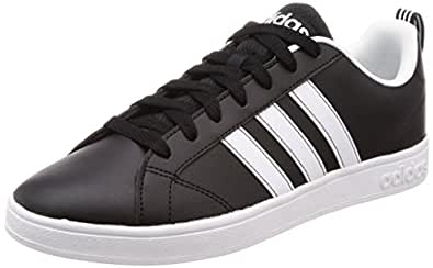 adidas neo neo Men's VS Advantage Cblack and Ftwwht Sneakers - 10 UK/India (44.7 EU) (F99254)