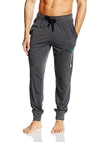 Tom Tailor Underwear Herren Schlafanzughose Pyjama Hose, lang, Bündchen, mit