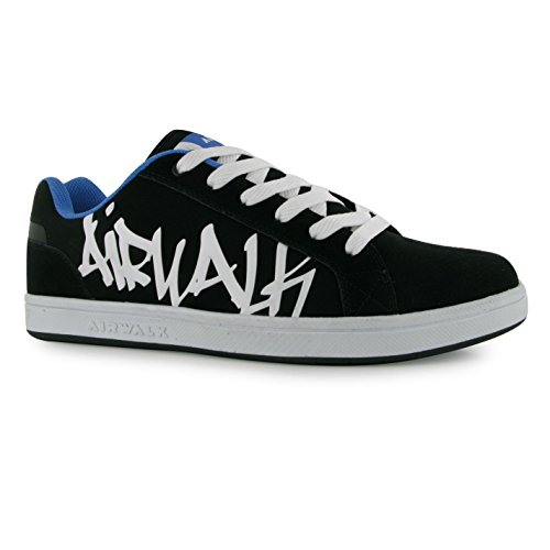 airwalk-neptune-skate-shoes-mens-black-blue-casual-trainers-sneakers-uk10-eu44