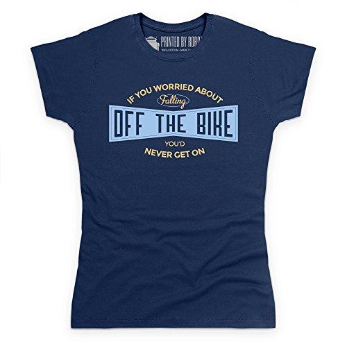 Cycling - Off The Bike T-Shirt, Damen Dunkelblau