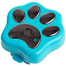 Baoblaze RF-V30 GPS de Mascotas Impermeable Wifi Localizador de Perros Gatos Collar de Localizador - Azul