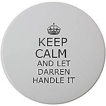 Mango it Darren Keep Calm cerámica redondo posavasos