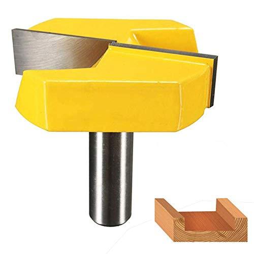 Fortspang Fräser mit 1/2 Schaft, 5,1 cm Schnittdurchmesser, Doppelschneider, Hartmetall-Spitze, Reinigung am Boden, Holzbearbeitung, Fräser, Oberfräser