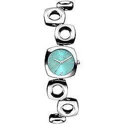 s.Oliver Damen-Armbanduhr Analog Quarz Alloy SO-3153-MQ