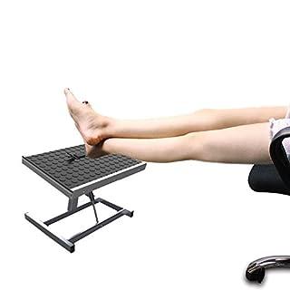 Annstory Auto Adjustable Footrest, Ergonomic Comfort Adjustable Hight Footrest Footstool For Home Office