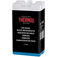 Thermos Weekend reutilizable bolsas de hielo, 200g, color azul, 2unidades