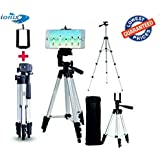 Ionix Flexible Foldable Tripod for Camera, DSLR and Smartphones with Mobile Attachment, Tripod Stand for Phone and Camera for video recording
