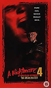 A Nightmare On Elm Street 4 The Dream Master Vhs