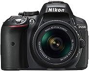 كاميرا نيكون D5300 بعدسة AF-P مع مستشعر ببعد بؤري 18-55 ملم والحد الأقصى للفتحة 3.5-5.6 وخاصية تقليل الاهتزاز