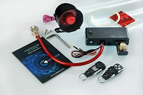 Cadillock Alarm Plus-Auto-Alarmanlage mit Wegfahrsperre