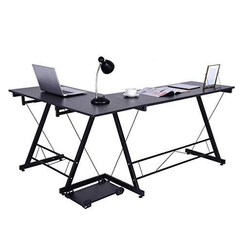 Maleya Innenministerium Eckschreibtisch Computertisch Stahlholz Studien Schreibtisch gesetzte Tastatur Computertische Computertischschreibtischschreibtischcomputer PC -