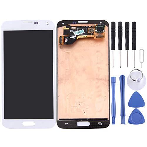 Replacement Original LCD Screen+Touch Pad Ersatz-LCD-Bildschirm und Digitizer Full Assembly for Galaxy S5 / G9006V / G900F / G900A / G900I / G900M / G900V (Schwarz) Repair/Replacing the old, broken, c