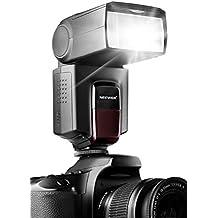 Neewer TT560 flash Speedlite para Canon Nikon Sony Olympus Panasonic Pentax Fujifilm Sigma Minolta Leica y Otros SLR Digital SLR Digital SLR Cámaras y cámaras digitales en un solo contacto zapata