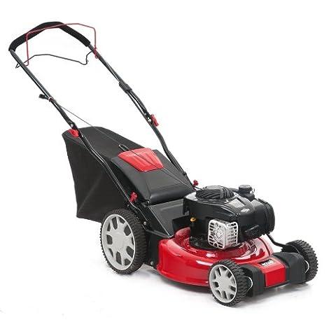 MTD O46SPBHW 46 cm B and S HI/WHL Self Propelled Lawn Mower - Red