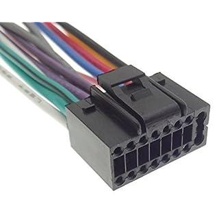 JVC (1) Autoradio Kabel Radio Adapter Stecker DIN ISO Anschlusskabel Kabelbaum