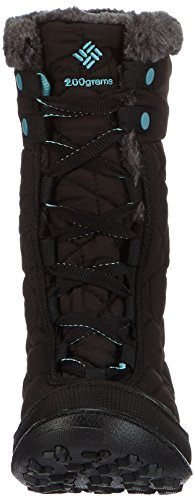 Columbia Minx Mid II Omni-Heat, Chaussures Multisport Outdoor mixte enfant, Noir Black, Iceberg