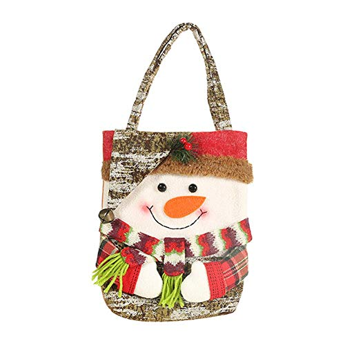 Little Fairy Fang Christmas Storage Bag Santa Snowman Elk Bear Candy Apple Gift Bag Holiday Supplies