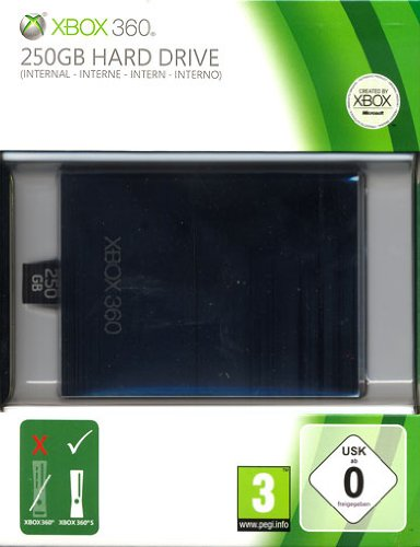 Xbox 360 250 GB Festplatte für Slim Konsolen
