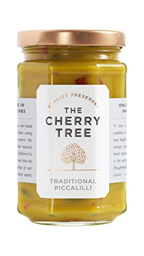 Traditional Picalilli - Traditionelles Picalilli Relish, echt bristish - 290 g - Ein Premium-Gourmet Produkt der Spitzenklasse von The Cherry Tree