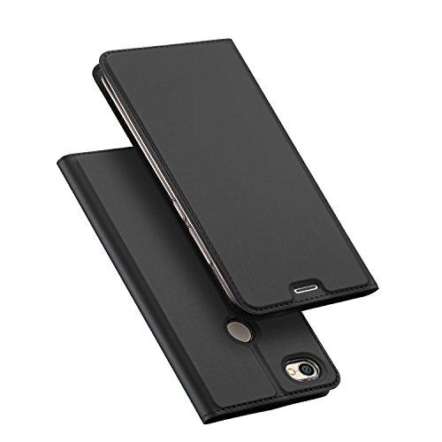 DUX DUCIS Xiaomi Redmi Note 5A Prime Hülle, Skin Pro Series Ultra Slim Layered Dandy, Ständer, Magnetverschluss,TPU Bumper, Full Body Schutz für Xiaomi Redmi Note 5A Prime (Grau)