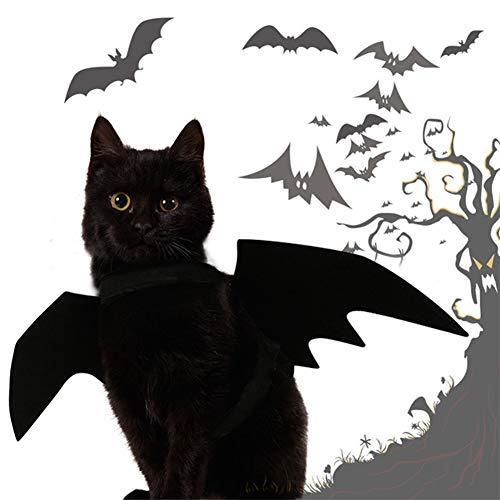 Jungs Kostüm Sexy - YZZ Haustier Fledermausflügel Kostüm für Katzen & Hunde Haustier Bekleidung Kleidung für Halloween Party Klein