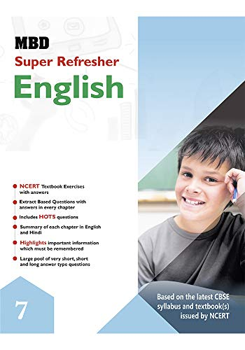 MBD SUPER REFRESHER ENGLISH  - VII (CBSE) (English Edition)