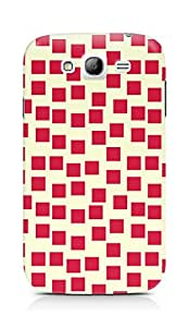 Amez designer printed 3d premium high quality back case cover for Samsung Grand Neo Plus (Red Pattern1)