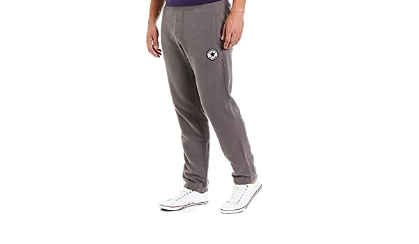 667e919ffa04 Mckenzie Converse Chuck Patch Fleece Pants Charcoal Grey Mens UK Size    XX-Large (XXL)  Amazon.co.uk  Clothing