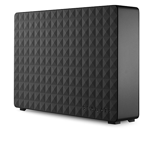 Seagate Expansion - Disco duro externo de Desktop 3.5' para PC, Xbox One y PlayStation 4 (3 TB, USB 3.0), Negro
