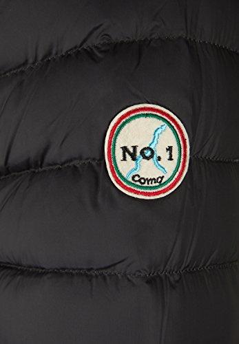 No.1 Como - Blouson - Doudoune - Uni - Manches Longues - Homme Noir