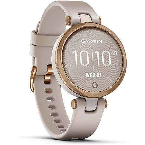 Oferta de Garmin Lily Sport Reloj Inteligente, Beige Rose Gold