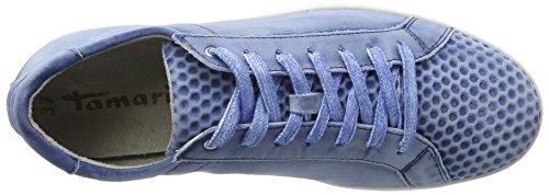 Tamaris Ladies 23635 Sneaker Blue (denim / Denim St 886)