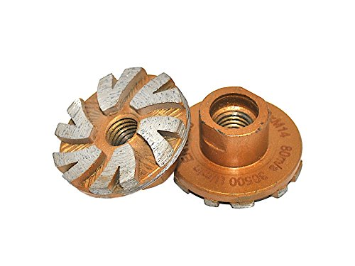 M14 Gold Diamant Schleiftopf, Durchmesser 50 mm, für Winkelschleifer. -