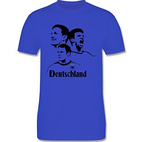 EM 2016 - Frankreich - Deutsche Nationalspieler - EM 2016 Frankreich - Herren Premium T-Shirt Royalblau