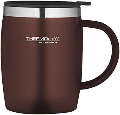 ThermoCafé Plastic and Stainless Steel Desk/Travel Mug, 450 ml