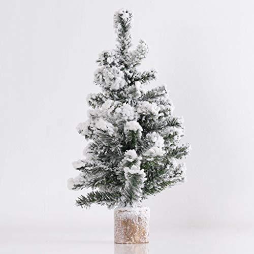 Ry-Christmas tree Weihnachtsbaum 52cm Simulation Kiefer Schneespray Weihnachtsbaum Dekoration