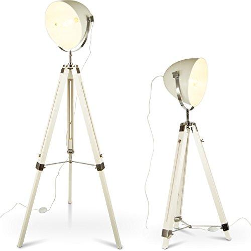 mojoliving MOJO Stehlampe Tripod Lampe Dreifuss Urban Design Teleskoplampe höhenverstellbar mq-l89