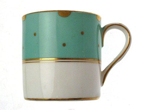 Crown Staffordshire Türkis D14411 C1919 2,25 'Kaffeedose
