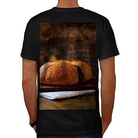 Brot Bäckerei Küche Essen Zuhause Gemacht Essen Herren L T-shirt Zurück | Wellcoda (Mango Brot)
