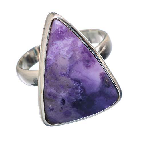 Tiffany Stone, Tiffany Stein 925 Sterling Silber Ring 8 (Tiffany Silver Ring)