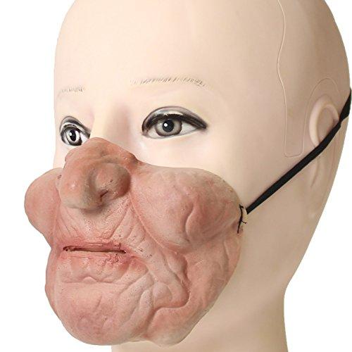 Neuheit-Halloween-Kostüm-Party-Latex-Tierkopf-Schablone Masken Die Alte Frau (Alte Frau Kostüm)