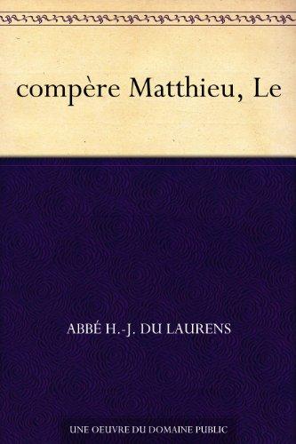 Couverture du livre compère Matthieu, Le