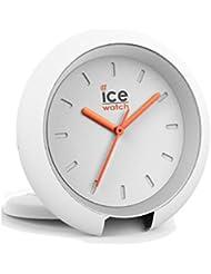 Ice-Watch 015192Ice Travel Clock Orologio unisex analogico in plastica luce allarme Bianco