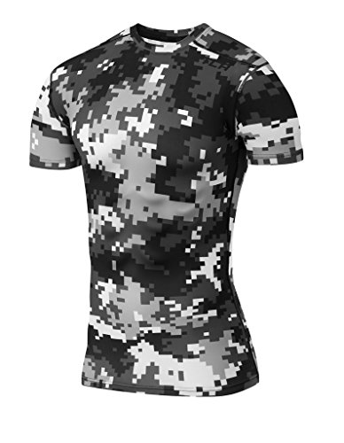 ormance Digital Combat Short Sleeve Thermal Compression Base Layer Top - Arctic Grey Combat, XX-Large (Short Sleeve Base Layer)