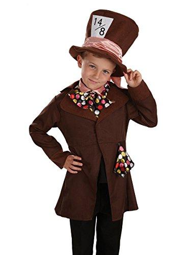 Kleine Mad Hatter / Alice im Wunderland - Kinder Kostüm - XL - 148cm - Alter 10-12