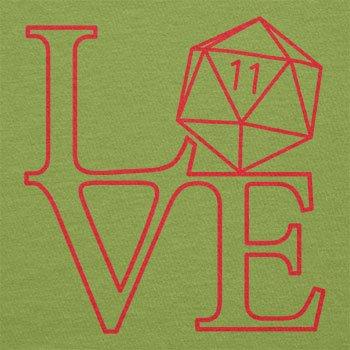 Texlab–RPG Love–sacchetto di stoffa Verde chiaro