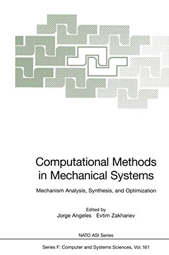 Computational Methods in Mechanical Systems: