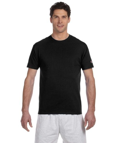 Champion 6.1 OZ. Short-Sleeve T-Shirt Black