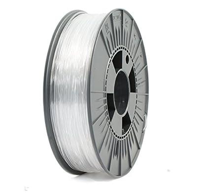 ICE FILAMENTS ICEFIL1ABSPLUS212 ABS+ Filament für 3D-Drucker, 1,75 mm, 0,75 kg, Cunning Clear