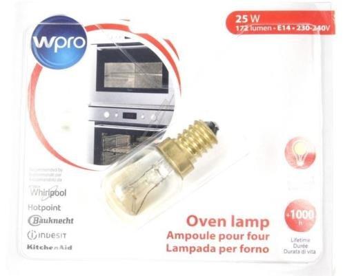 Whirlpool Original WPRO Lampe Birne für Ofen/Mikrowelle -
